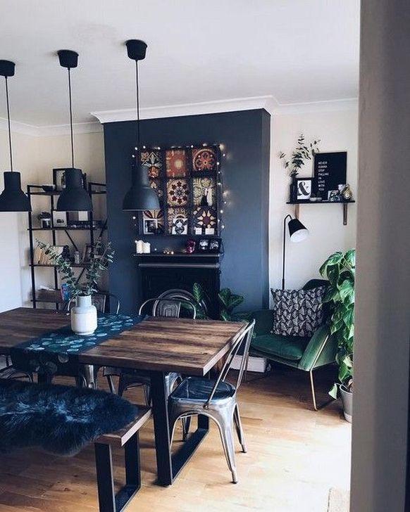 Gorgeous Rustic Dining Room Design Ideas 30