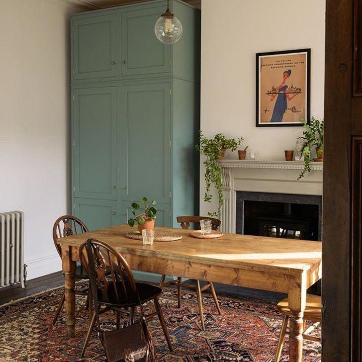 Gorgeous Rustic Dining Room Design Ideas 31