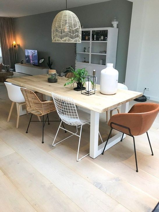 Gorgeous Rustic Dining Room Design Ideas 35