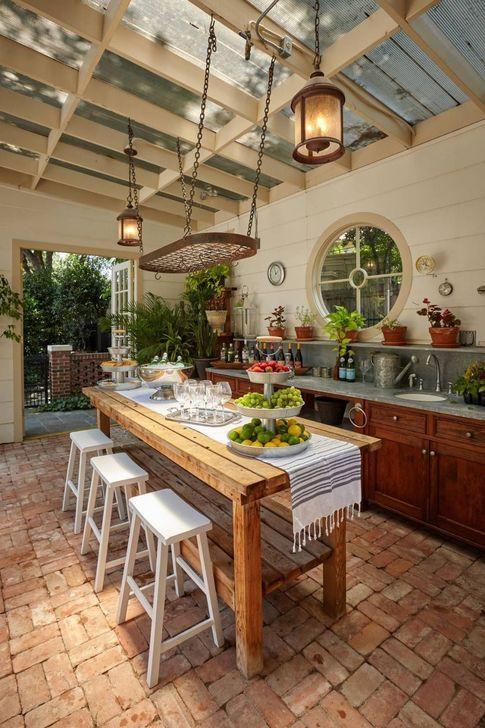 Gorgeous Rustic Dining Room Design Ideas 36