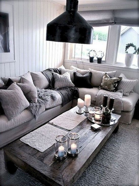 Gorgeous Shabby Chic Living Room Design And Decor Ideas 05