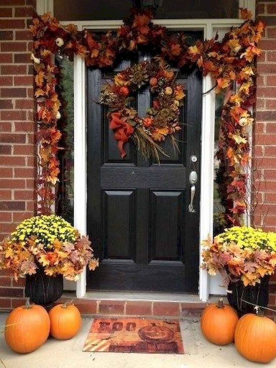 Inspiring Fall Decor Ideas For Your Home Decor 03