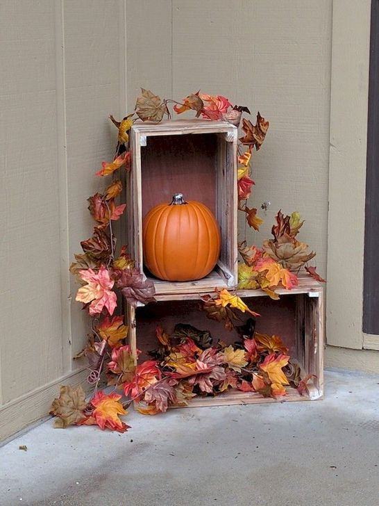Inspiring Fall Decor Ideas For Your Home Decor 05