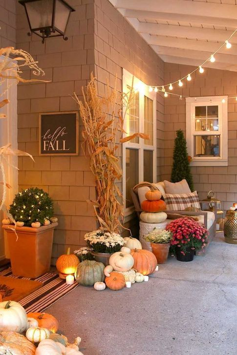 Inspiring Fall Decor Ideas For Your Home Decor 08
