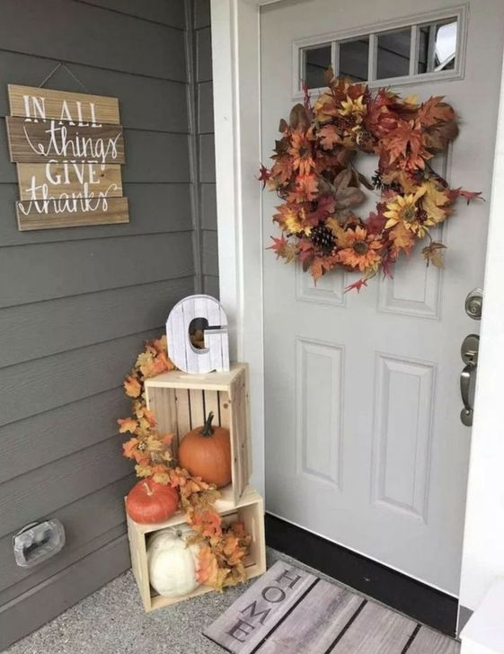 Inspiring Fall Decor Ideas For Your Home Decor 20