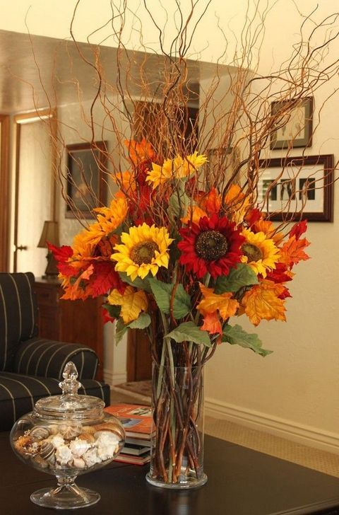 Inspiring Fall Decor Ideas For Your Home Decor 26