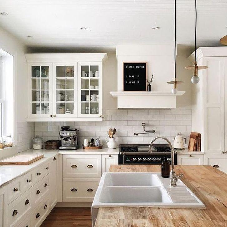 Inspiring Neutral Kitchen Design Ideas 08