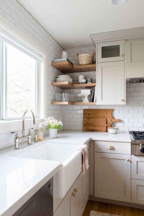 Inspiring Neutral Kitchen Design Ideas 27