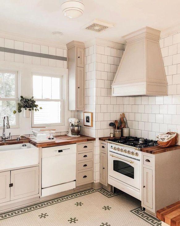 Inspiring Neutral Kitchen Design Ideas 32