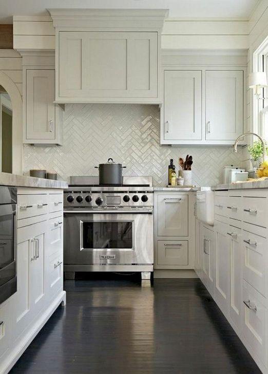 Inspiring Neutral Kitchen Design Ideas 34