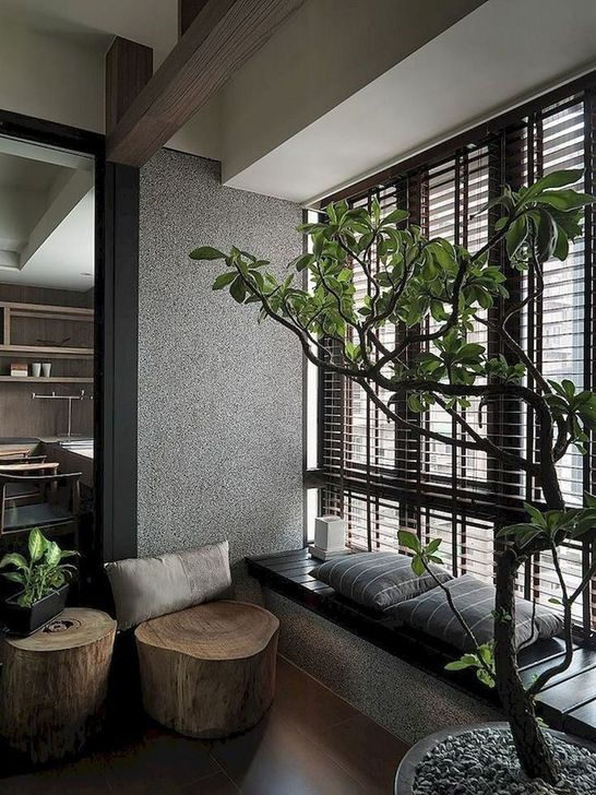 Lovely Japanese Living Room Decor Ideas 01