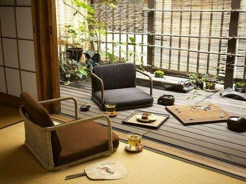 Lovely Japanese Living Room Decor Ideas 17