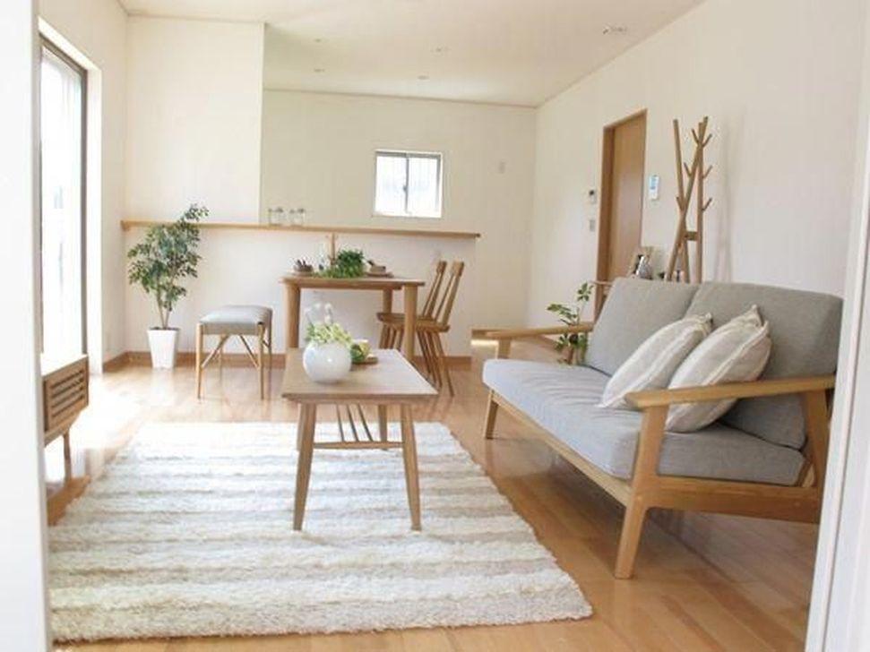 Lovely Japanese Living Room Decor Ideas 20
