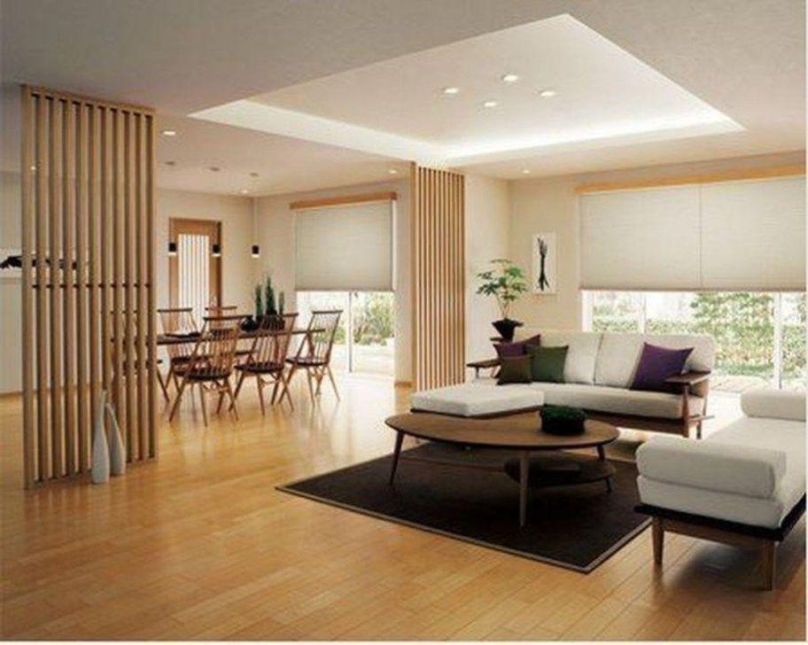 Lovely Japanese Living Room Decor Ideas 27