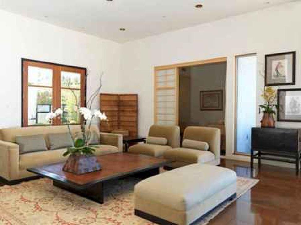 Lovely Japanese Living Room Decor Ideas 28