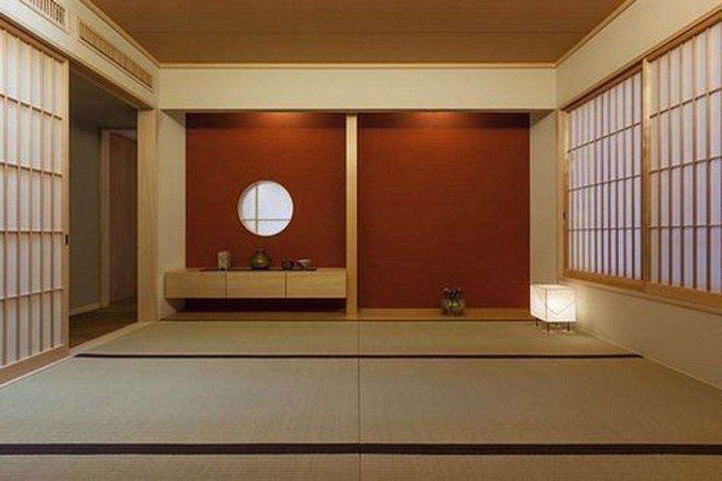 Lovely Japanese Living Room Decor Ideas 34