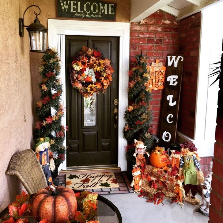 The Best Fall Outdoor Decor Ideas You Will Like 23