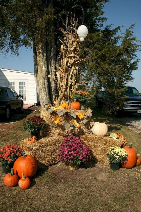 The Best Fall Outdoor Decor Ideas You Will Like 26