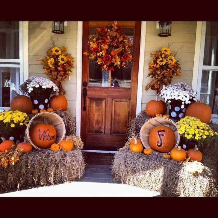 The Best Fall Outdoor Decor Ideas You Will Like 32