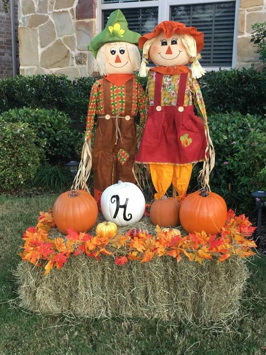 The Best Fall Outdoor Decor Ideas You Will Like 36