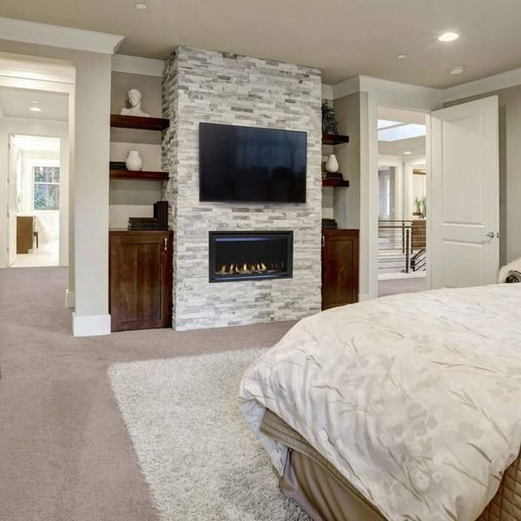 Awesome Bedroom Design With Fireplace Ideas Perfect For This Winter 10