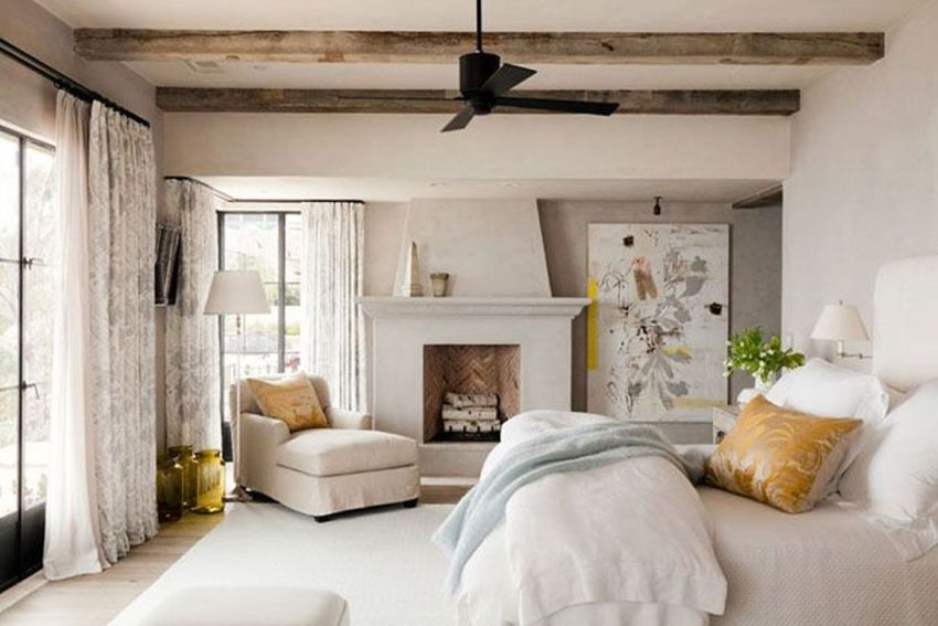Awesome Bedroom Design With Fireplace Ideas Perfect For This Winter 24