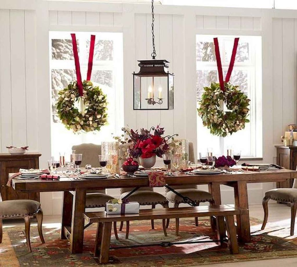 Beautiful Christmas Dining Room Decor Ideas You Never Seen Before 20