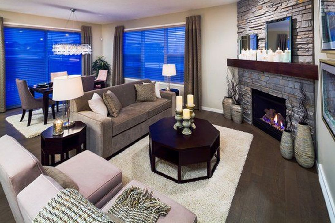 Beautiful Corner Fireplace Design Ideas For Your Living Room 11
