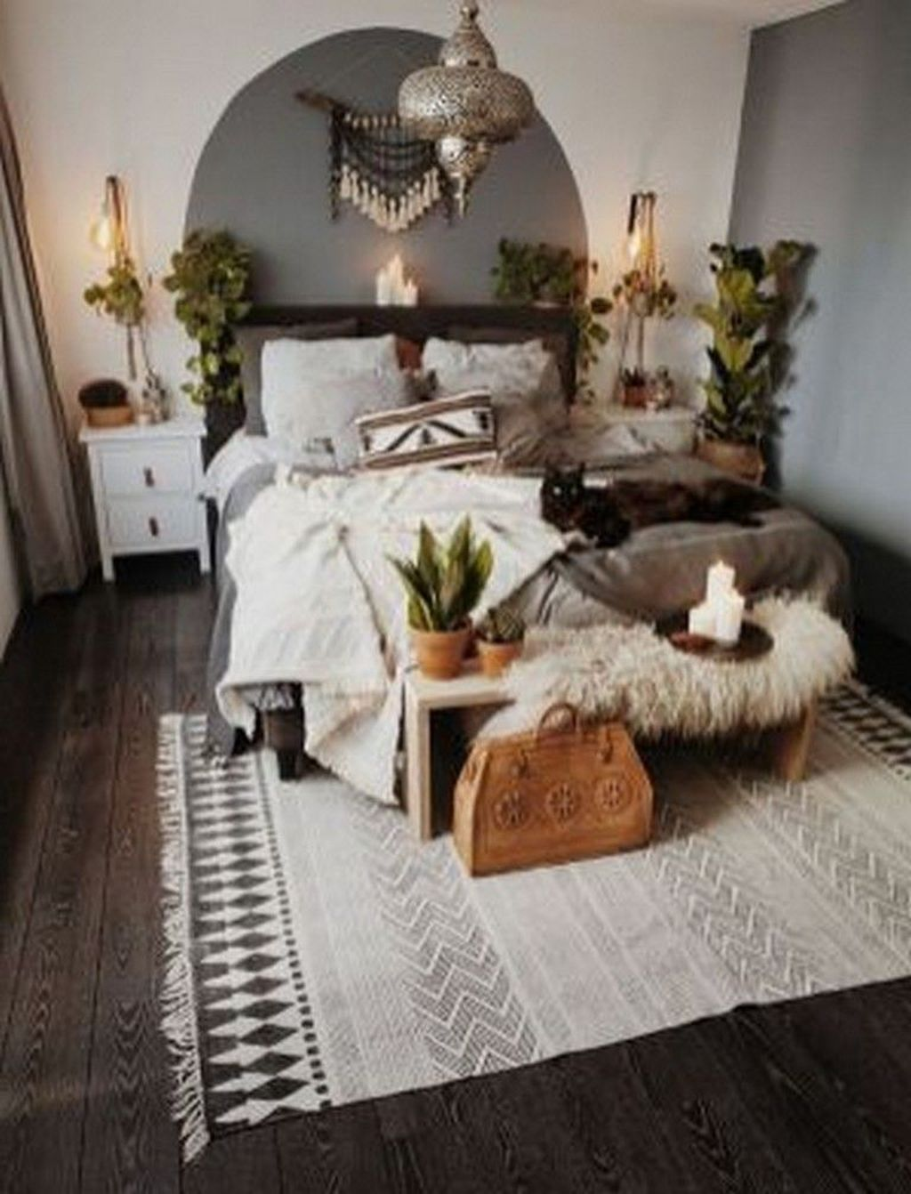 Beautiful Winter Bedroom Decor Ideas 31