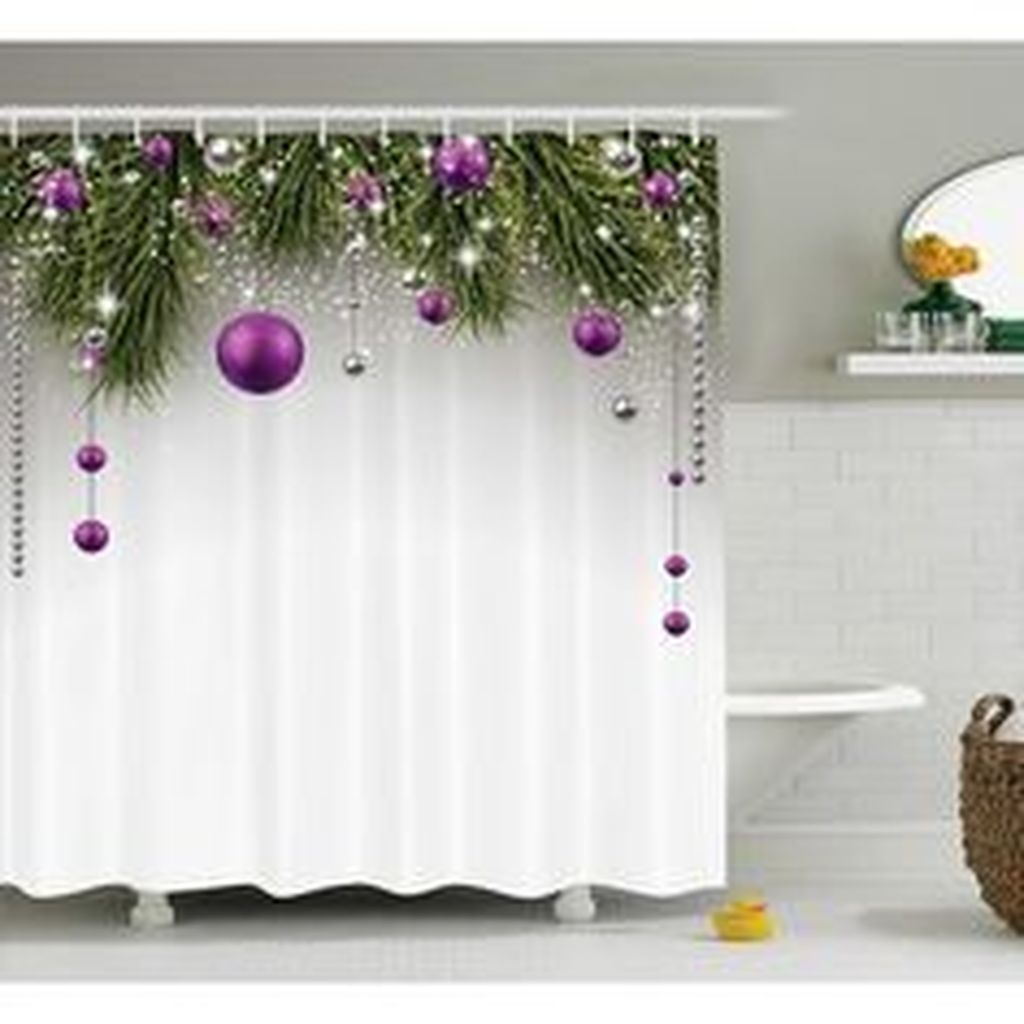 Fabulous Christmas Theme Bathroom Decor Ideas Trend 2019 32