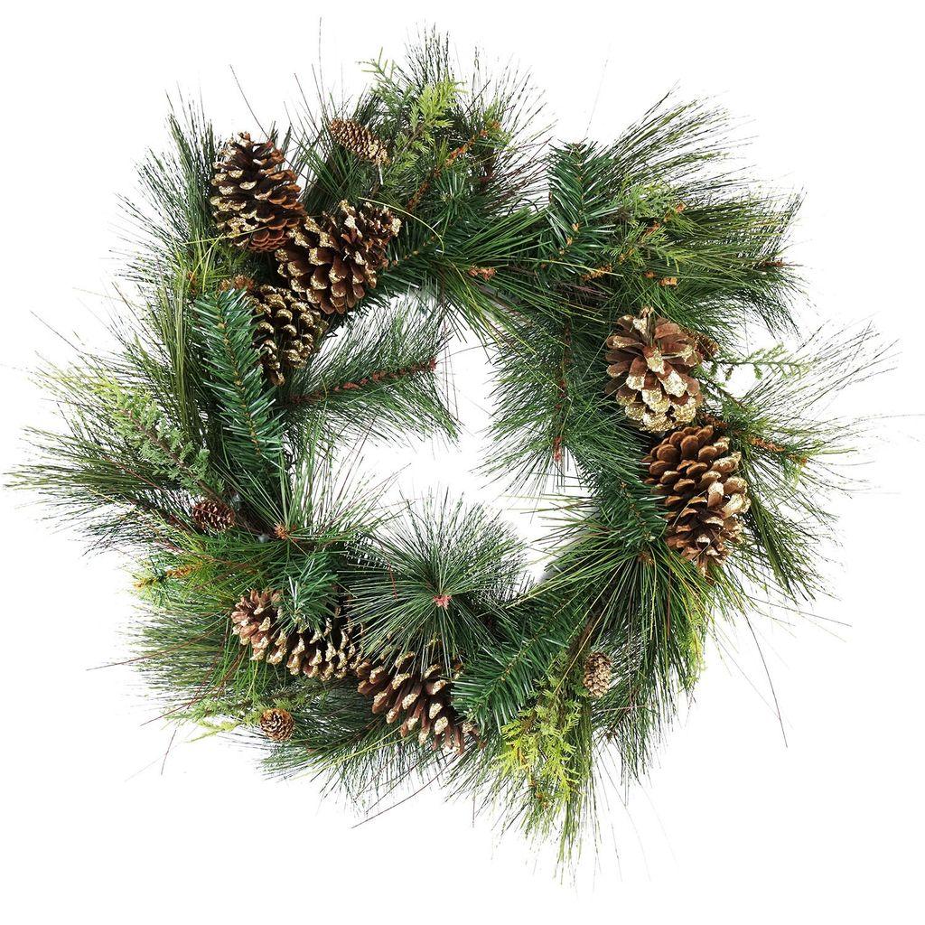 Gorgeous DIY Christmas Wreaths You Should Copy Now 01