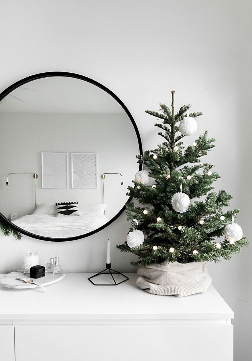 Nice Christmas Decoration Ideas For Apartment 12