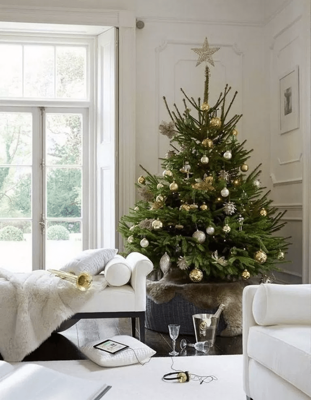 Nice Christmas Decoration Ideas For Apartment 14