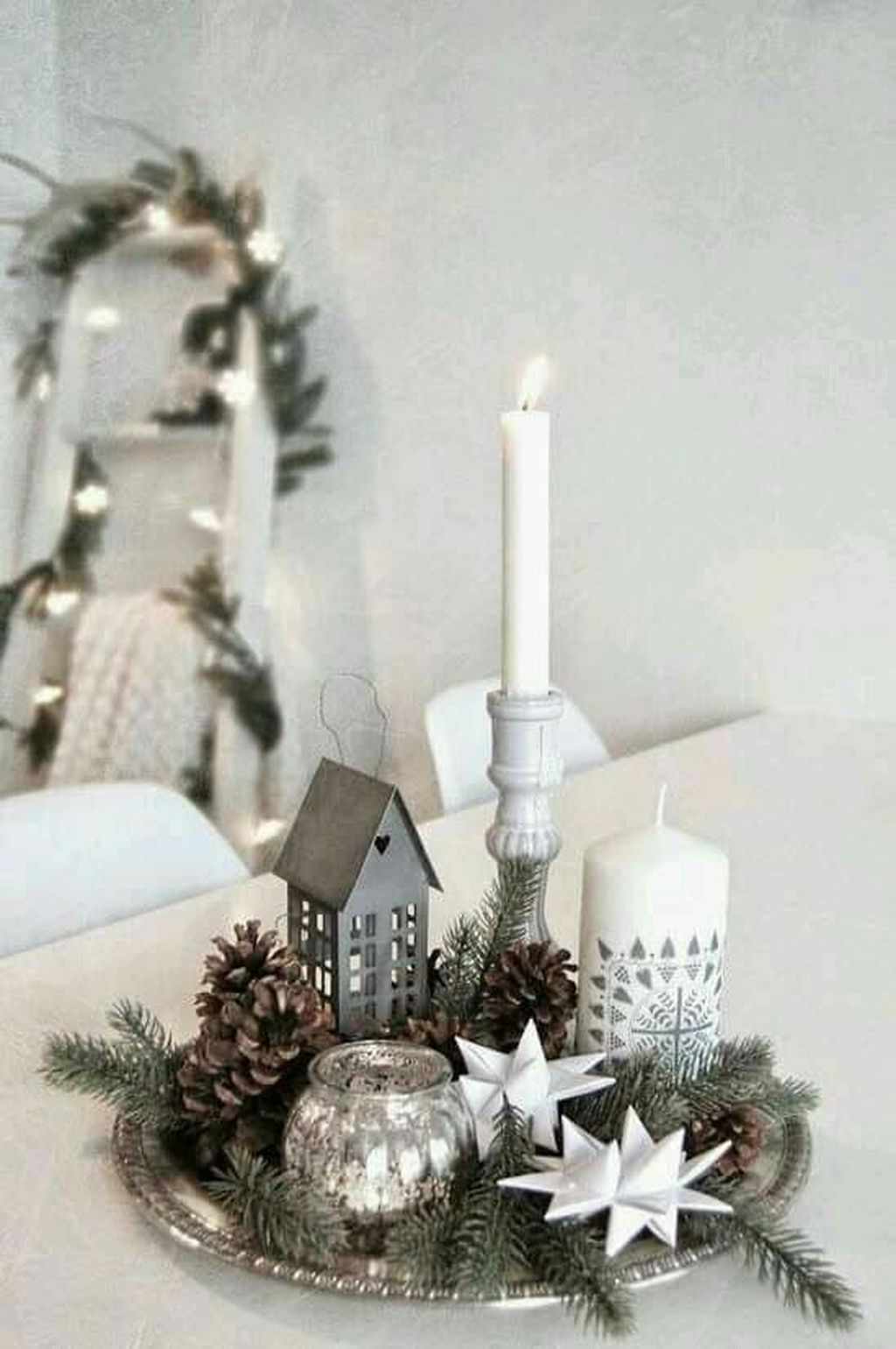 Nice Christmas Decoration Ideas For Apartment 26