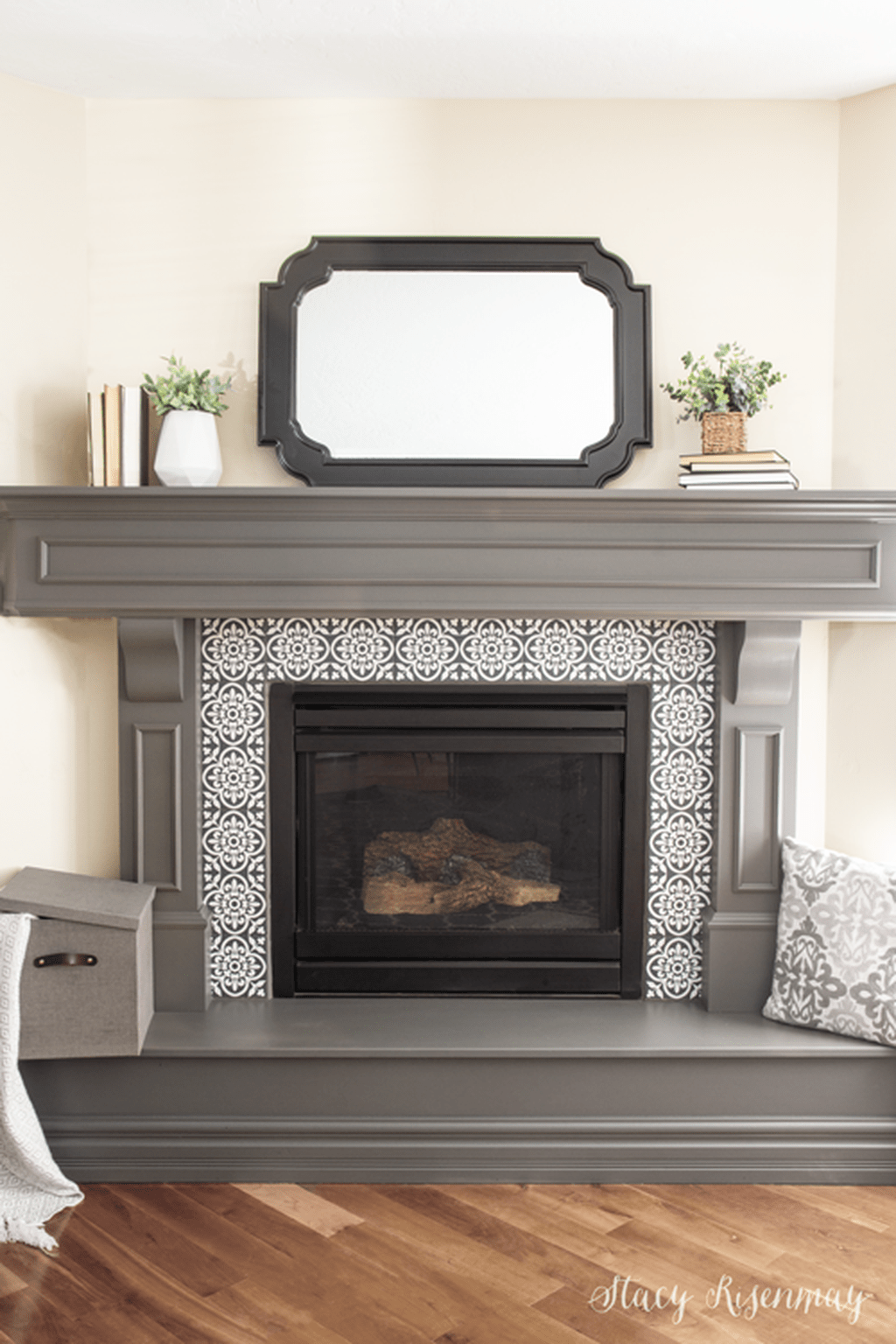 Stunning Fireplace Mantel Decor Ideas You Should Copy Now 07
