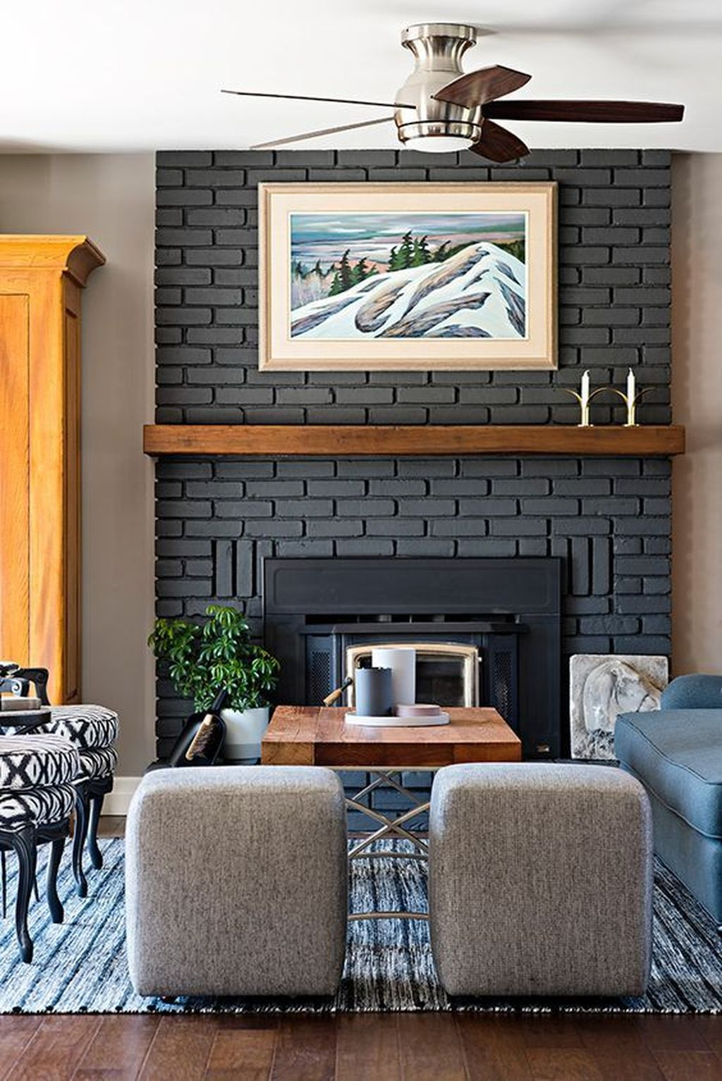 Stunning Fireplace Mantel Decor Ideas You Should Copy Now 28