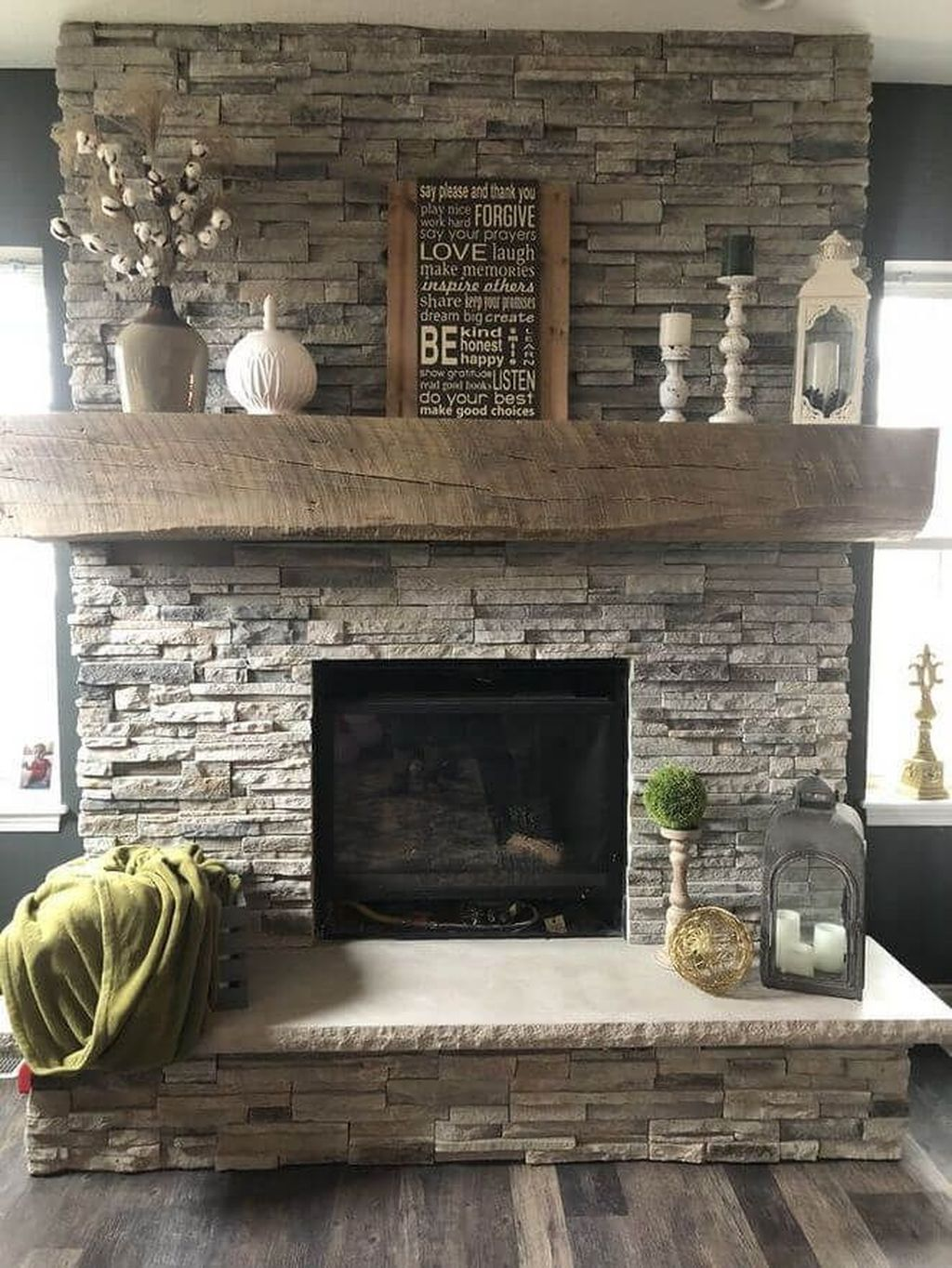 Stunning Fireplace Mantel Decor Ideas You Should Copy Now 29