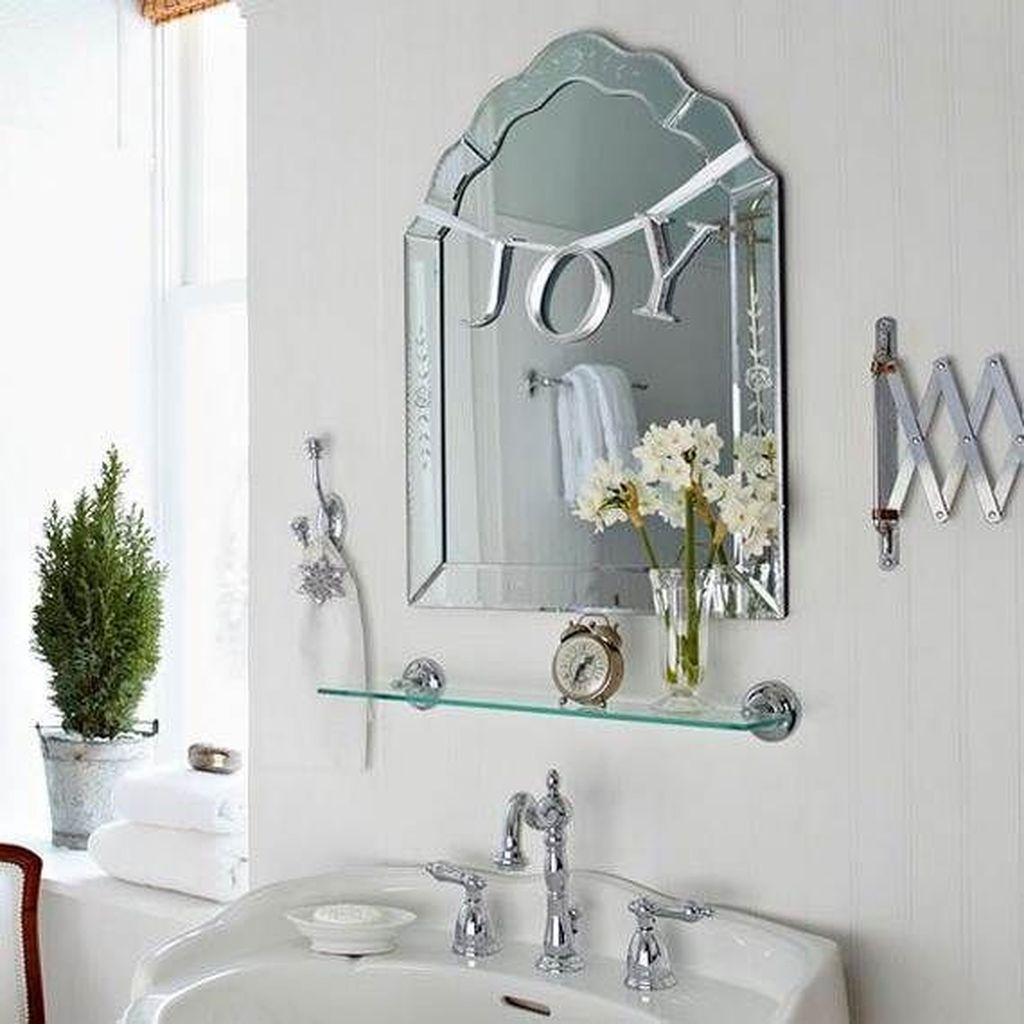 Stunning Winter Bathroom Decor Ideas 06