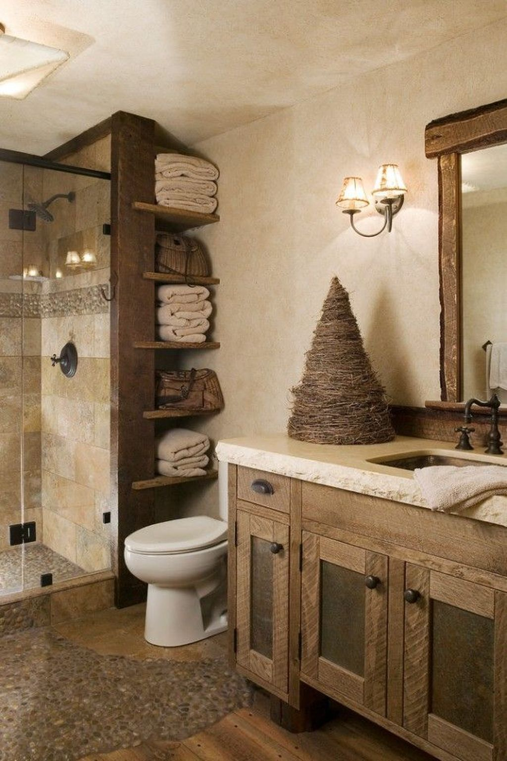 Stunning Winter Bathroom Decor Ideas 28