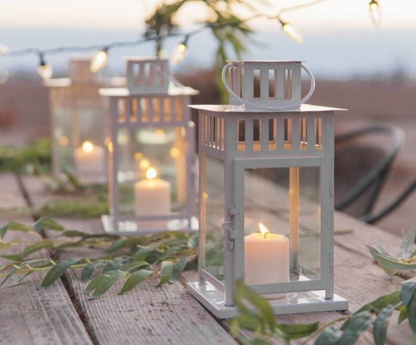 Stunning Winter Lantern Centerpieces For Wedding 19