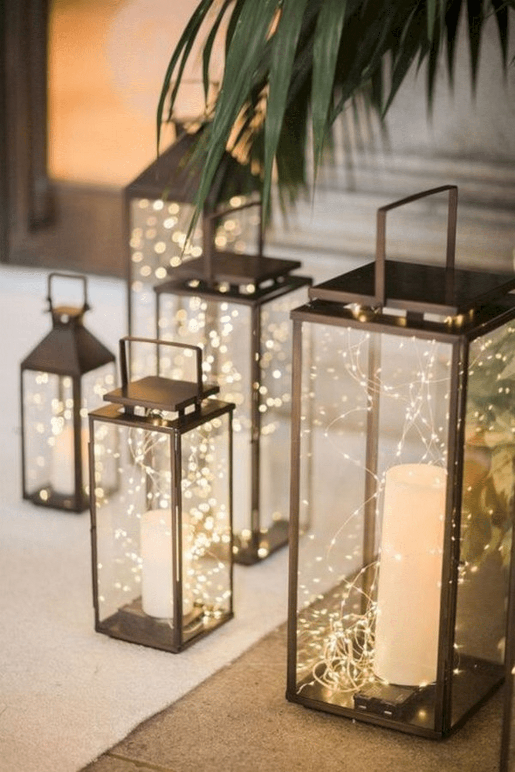 Stunning Winter Lantern Centerpieces For Wedding 36