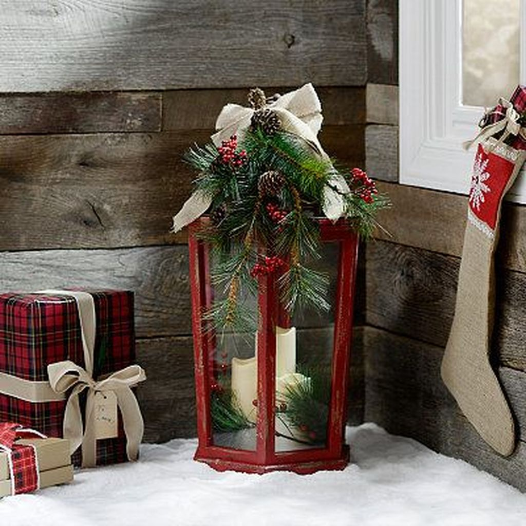The Best Christmas Lanterns Outdoor Ideas Best For Front Porches 04