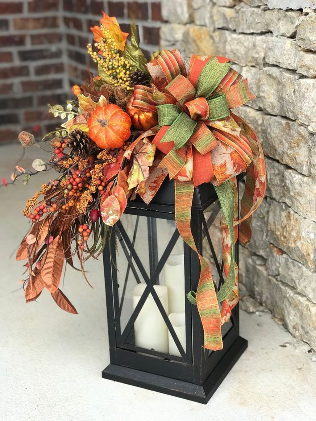The Best Christmas Lanterns Outdoor Ideas Best For Front Porches 29
