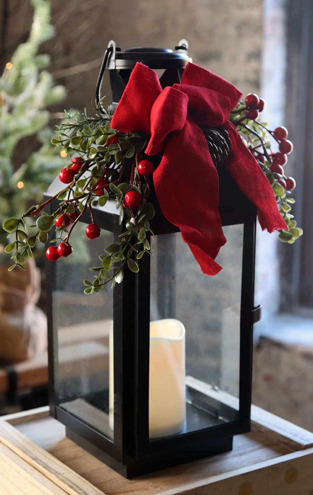 The Best Christmas Lanterns Outdoor Ideas Best For Front Porches 31