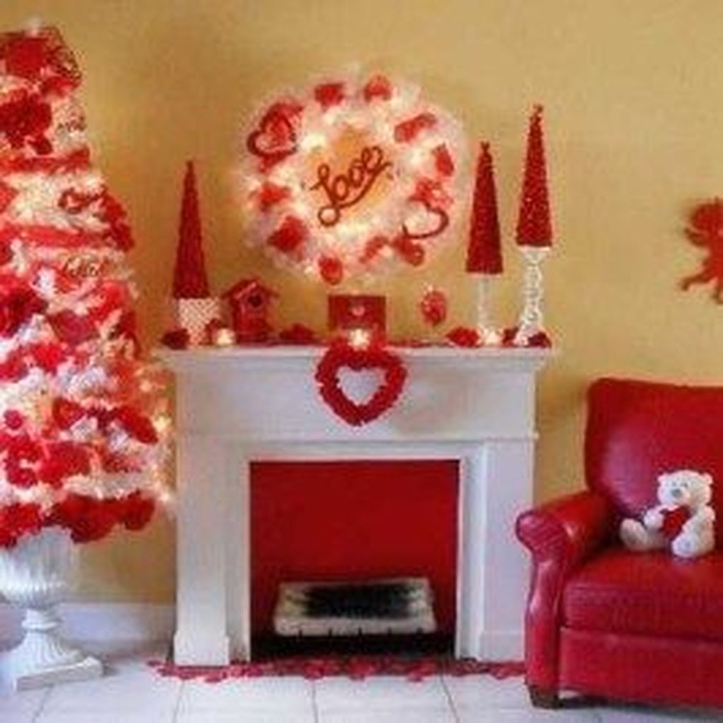 Amazing Valentine Interior Decor Ideas Trend 2020 09