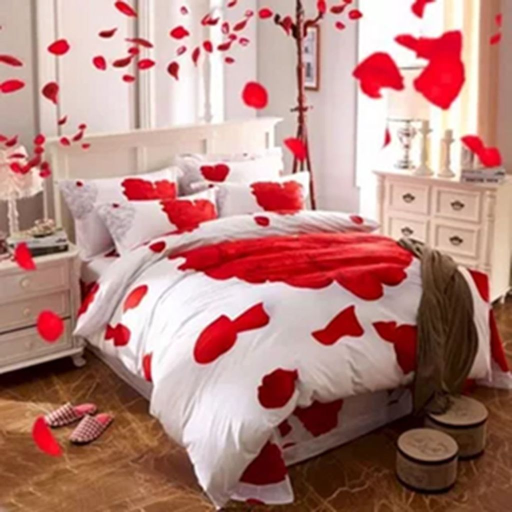 Gorgeous Romantic Valentine Bedroom Decoration Ideas 17