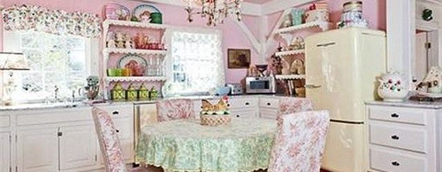 Lovely Romantic Kitchen Decorating Ideas 15