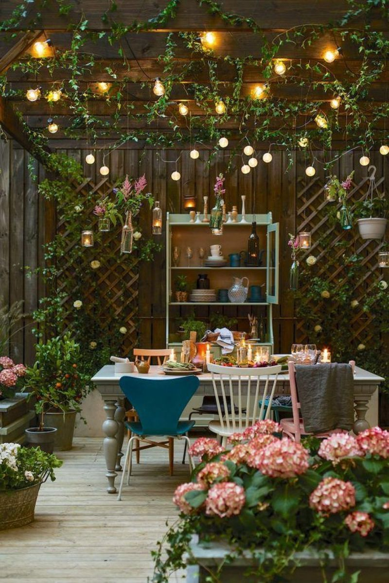 The Best Romantic Backyard Decorating Ideas 09