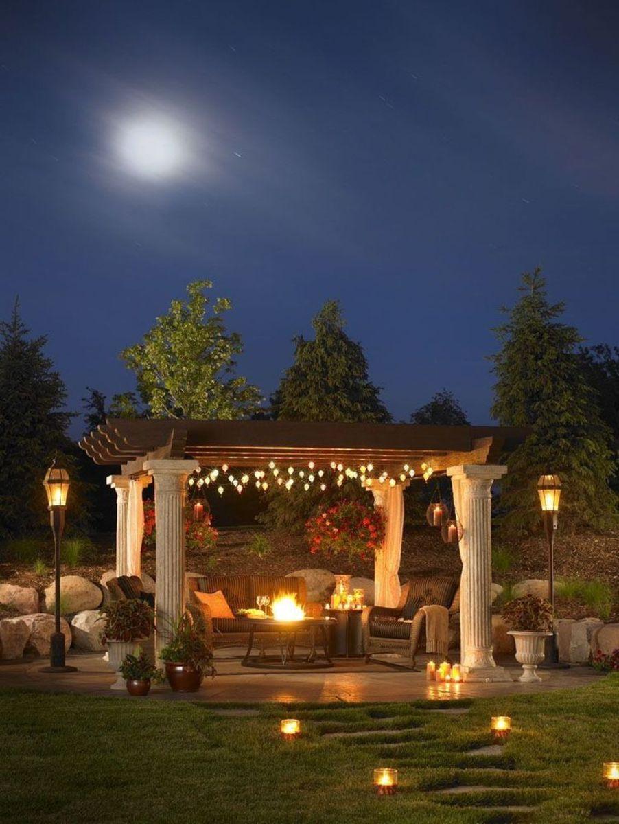 The Best Romantic Backyard Decorating Ideas 21