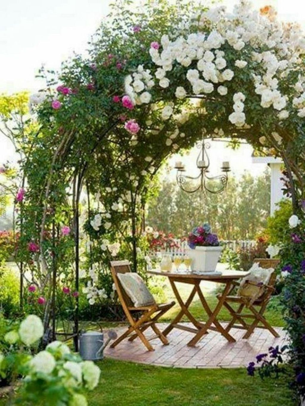 The Best Romantic Backyard Decorating Ideas 22